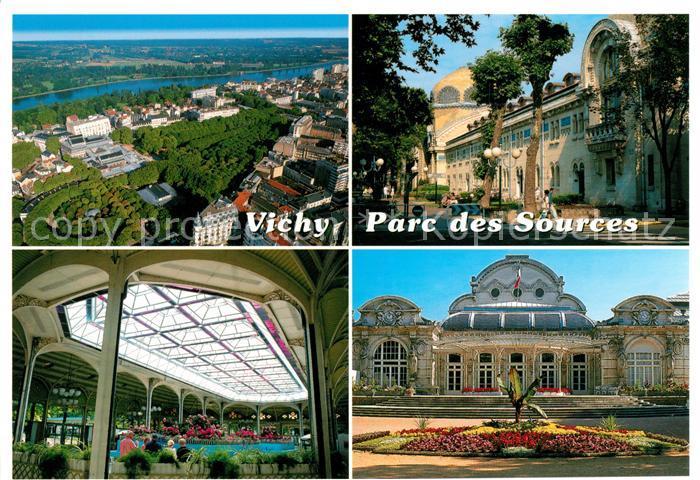 AK / Ansichtskarte Vichy Allier Parc des Sources Centre Thermal des Domes Palais des Congress Kat. Vichy