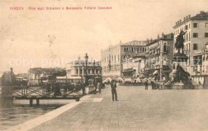 AK / Ansichtskarte Venezia Venedig Riva degli Schiavoni Kat.