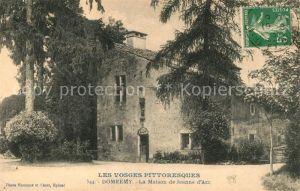 AK / Ansichtskarte Domremy la Pucelle Vosges Maison de Jeanne d`Arc Kat. Domremy la Pucelle