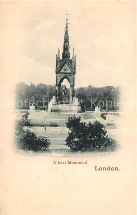 AK / Ansichtskarte London Albert Memorial Kat. City of London