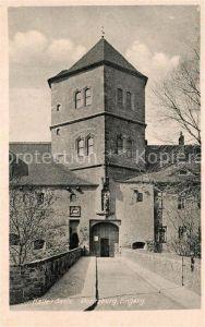 AK / Ansichtskarte Halle Saale Moritzburg Eingang Kat. Halle