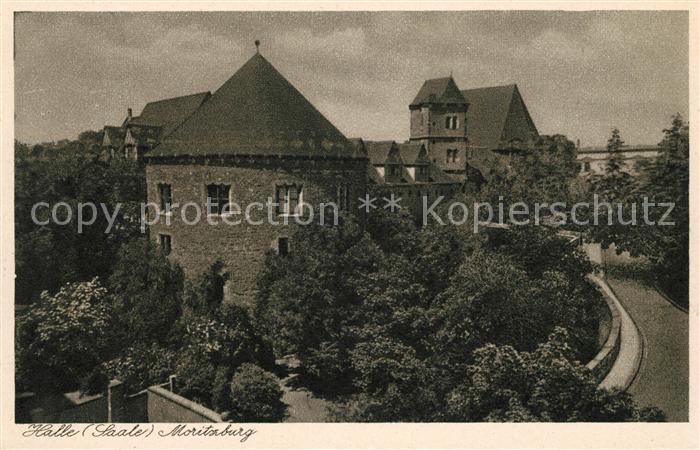 AK / Ansichtskarte Halle Saale Moritzburg Kat. Halle