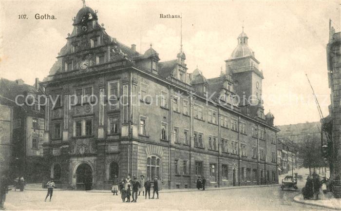 AK / Ansichtskarte Gotha Thueringen Rathaus Kat. Gotha