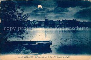 AK / Ansichtskarte Le Huelgoat Effet de nuit sur le Lac