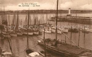AK / Ansichtskarte Royan Charente Maritime Le Port Cote d Argent Kat. Poitiers Charentes