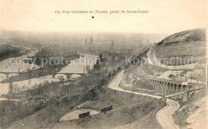 AK / Ansichtskarte Rouen Vue generale prise de Bonsecours Kat. Rouen