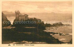 AK / Ansichtskarte Biarritz Pyrenees Atlantiques Chateau basque Cote Kat. Biarritz