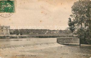 AK / Ansichtskarte Pontoise  Val d Oise Le Barrage Kat. Pontoise