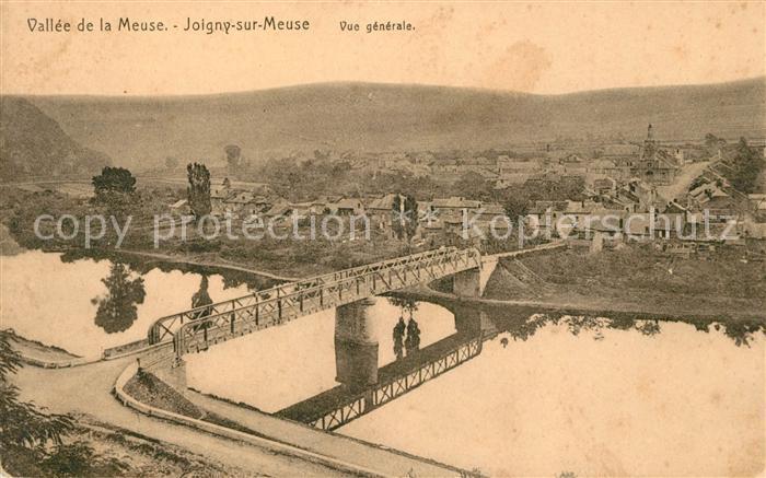 AK / Ansichtskarte Joigny sur Meuse Panorama Vallee de la Meuse Kat. Joigny sur Meuse