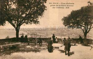 AK / Ansichtskarte Nice Alpes Maritimes Vue generale prise de la Plateforme du Chateau Kat. Nice