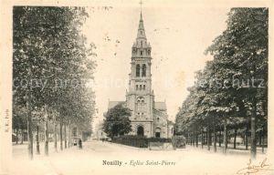 AK / Ansichtskarte Neuilly sur Seine Eglise Saint Pierre Kat. Neuilly sur Seine