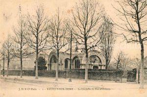 AK / Ansichtskarte Neuilly sur Seine Chapelle du Duc d Orleans Kat. Neuilly sur Seine
