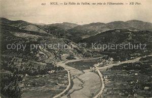 AK / Ansichtskarte Nice Alpes Maritimes Panorama Vallee du Paillon vue prise de l Observatoire Kat. Nice