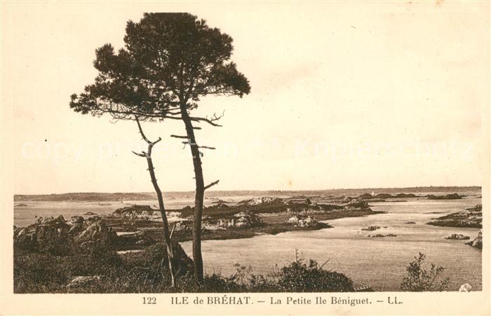 AK / Ansichtskarte Ile de Brehat Panorama de la petite Ile Beniguet Kat. Ile de Brehat