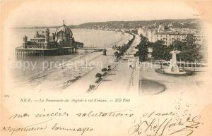 AK / Ansichtskarte Nice Alpes Maritimes Promenade des Anglais Palais de la Jetee Promenade a vol d oiseau Kat. Nice