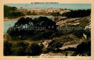AK / Ansichtskarte Ile de Brehat Vue generale et le Port Clos Kat. Ile de Brehat