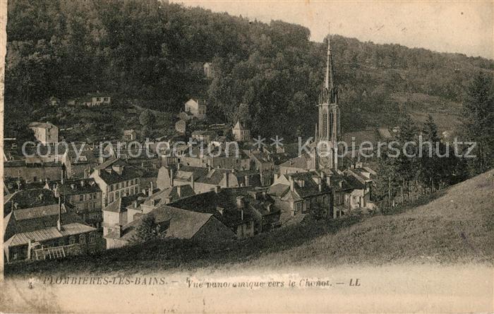 AK / Ansichtskarte Plombieres les Bains Vosges Vue panoramique vers le Chonot Kat. Plombieres les Bains