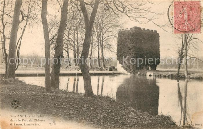 AK / Ansichtskarte Anet Le Belier dans le Parc du Chateau Kat. Anet