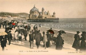 AK / Ansichtskarte Nice Alpes Maritimes Palais de la Jetee Promenade Kat. Nice