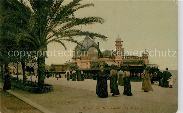 AK / Ansichtskarte Nice Alpes Maritimes Promenade des Anglais Palais de la Jetee Promenade Kat. Nice