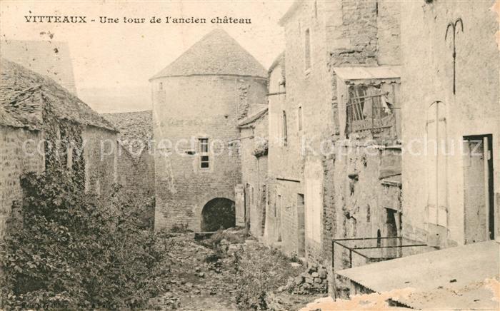 AK / Ansichtskarte Vitteaux Une tour de l ancien chateau Kat. Vitteaux