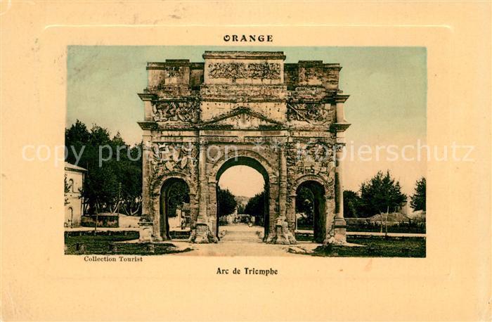 AK / Ansichtskarte Orange Arc de Triomphe Kat. Orange