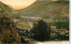 AK / Ansichtskarte Briancon Vue panoramique prise de la route de Puy Saint Pierre Kat. Briancon