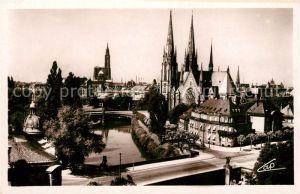 AK / Ansichtskarte Strasbourg Alsace Eglise St. Paul et la Cathedrale Kat. Strasbourg