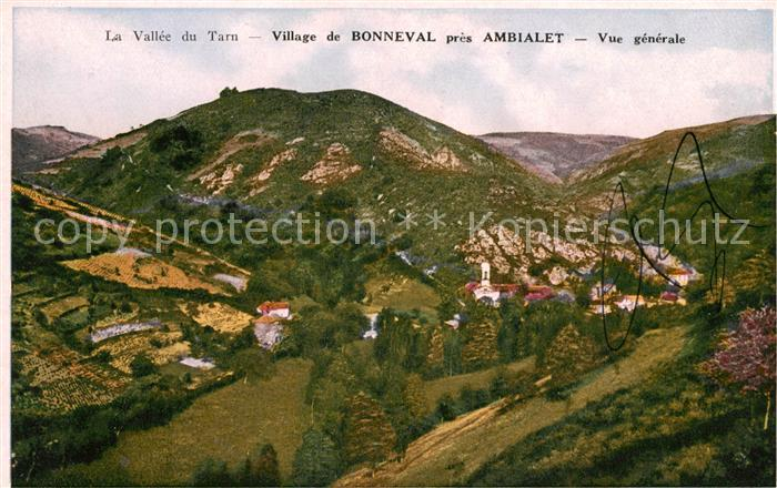AK / Ansichtskarte Bonneval sur Arc Vue generale Vallee du Tarn Kat. Bonneval sur Arc