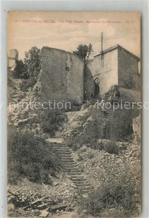 AK / Ansichtskarte Verdun Meuse La Ville Haute anciennes fortifications Kat. Verdun