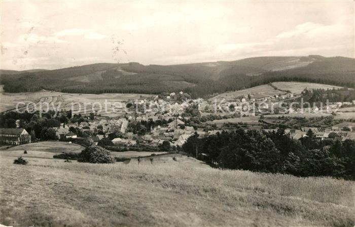 AK / Ansichtskarte Tambach Dietharz Panorama Thueringer Wald Kat. Tambach Dietharz
