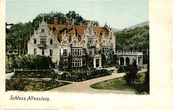 AK / Ansichtskarte Altenstein Schloss und Park