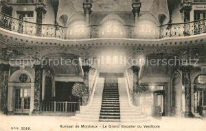 AK / Ansichtskarte Montreux VD Le Grand Escalier du Vestibule Kat. Montreux