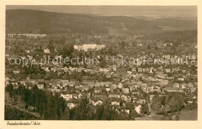 AK / Ansichtskarte Friedrichroda Panorama Kat. Friedrichroda