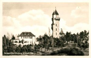 AK / Ansichtskarte Arnstadt Ilm Berggasthaus Alteburg Turm Kat. Arnstadt
