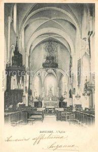 AK / Ansichtskarte Sancerre Interieur de l Eglise Kat. Sancerre