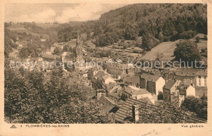 AK / Ansichtskarte Plombieres les Bains Vosges Vue generale Kat. Plombieres les Bains