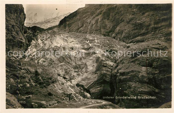 AK / Ansichtskarte Grindelwald Gletscher Kat. Grindelwald