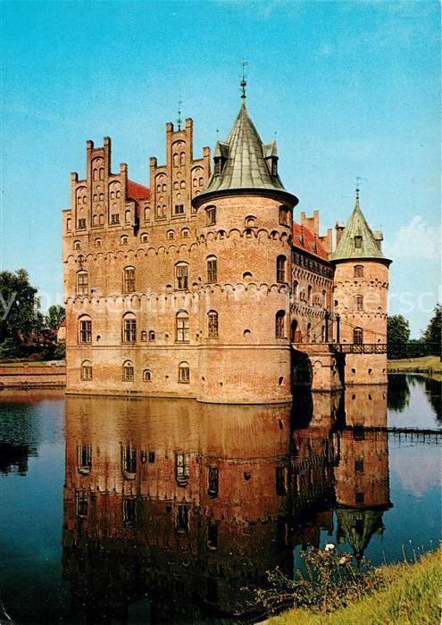 AK / Ansichtskarte Egeskov Wasserschloss Kat. Daenemark