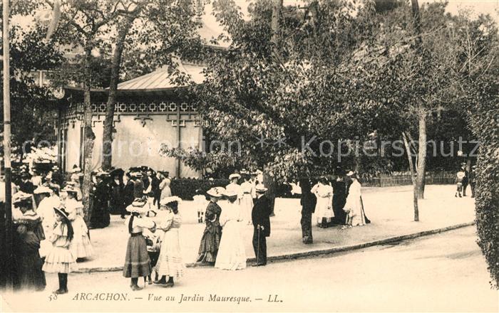AK / Ansichtskarte Arcachon Gironde Vue au Jardin Mauresque Kat. Arcachon
