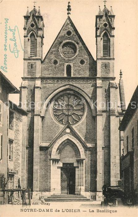 AK / Ansichtskarte Notre Dame de l Osier La Basilique Kat. Notre Dame de l Osier