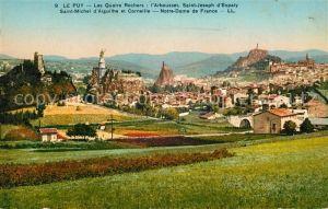 AK / Ansichtskarte Le Puy en Velay Les Quatre Rochers Kat. Le Puy en Velay