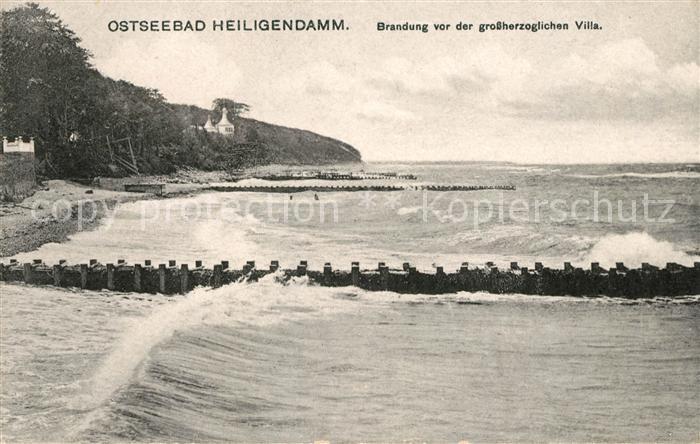 AK / Ansichtskarte Heiligendamm Ostseebad Strand Kat. Bad Doberan