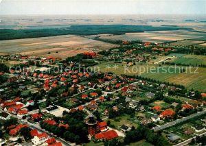 AK / Ansichtskarte Hage Ostfriesland Fliegeraufnahme Kat. Hage