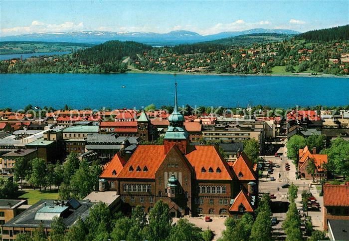 AK / Ansichtskarte oestersund Rathaus Panorama Kat. oestersund