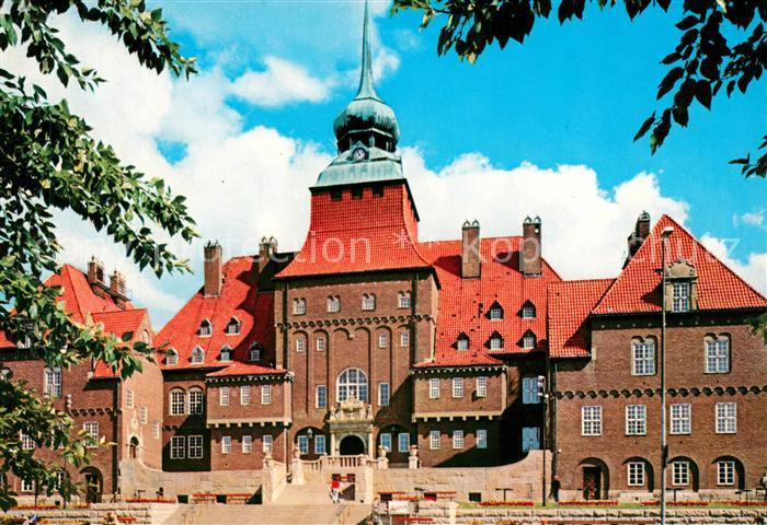 AK / Ansichtskarte oestersund Rathaus Kat. oestersund