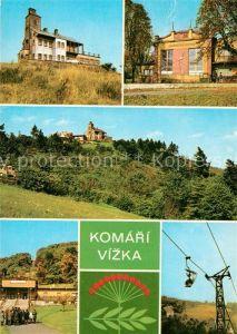 AK / Ansichtskarte Komari Vizka Hotel Restaurant