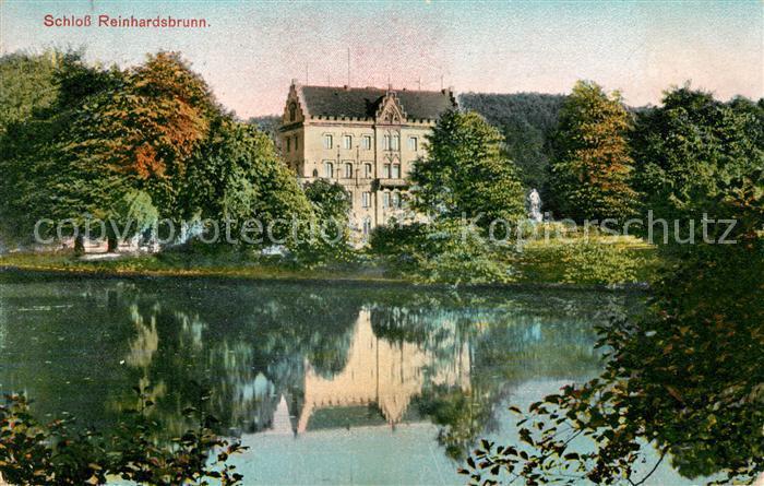 AK / Ansichtskarte Reinhardsbrunn Schloss Kat. Friedrichroda