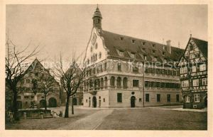 AK / Ansichtskarte Ulm Donau Das Schwoerhaus Kat. Ulm