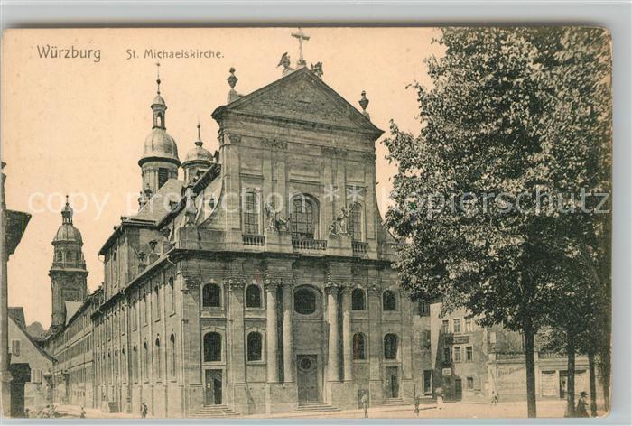 AK / Ansichtskarte Wuerzburg St Michaelskirche Kat. Wuerzburg